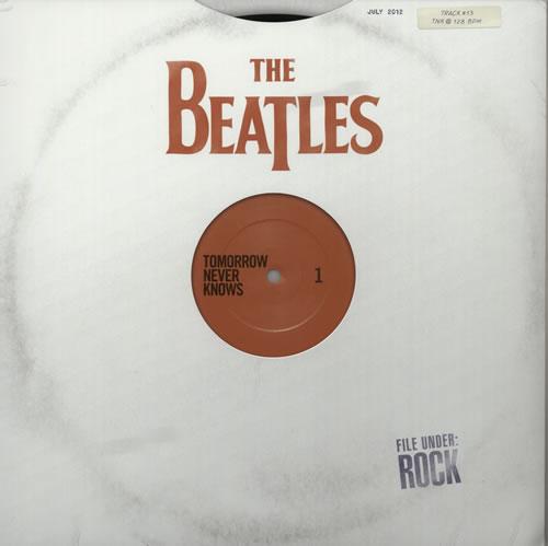 The Beatles Tomorrow Never Knows vinyl LP album (LP record) UK BTLLPTO576720
