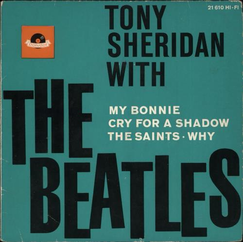 The Beatles Tony Sheridan With The Beatles Ep 1st Vg