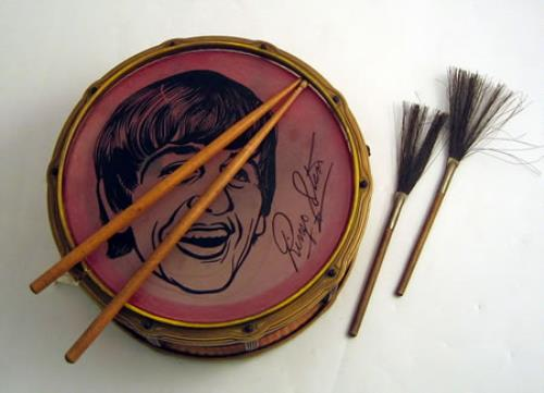 The Beatles Toy Ringo Snare Drum Memorabilia UK BTLMMTO396859