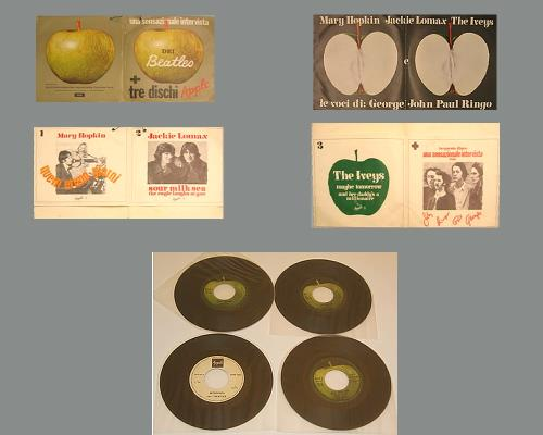"The Beatles Una Sensazionale Intervista Dei Beatles - Folder not mint 7"" vinyl single (7 inch record) Italian BTL07UN374523"