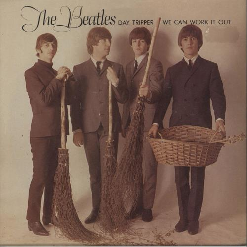 "The Beatles We Can Work It Out - 20th 7"" vinyl single (7 inch record) UK BTL07WE115945"