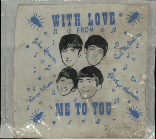 the beatles with love from me to you