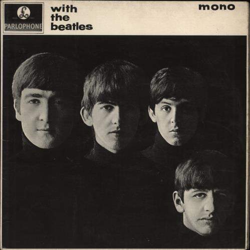 The Beatles With The Beatles - 2nd - Gotta - EX vinyl LP album (LP record) UK BTLLPWI448609