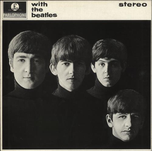 The Beatles With The Beatles - All Rights vinyl LP album (LP record) UK BTLLPWI749579