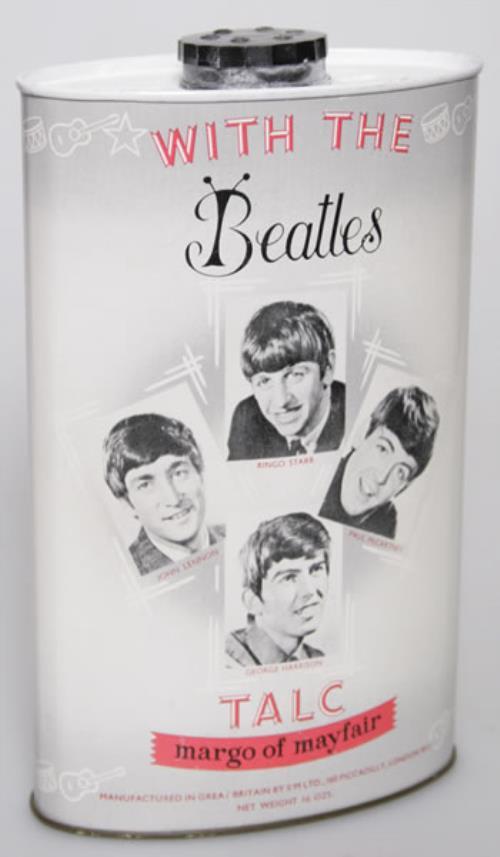 The Beatles With The Beatles Talc memorabilia UK BTLMMWI541533