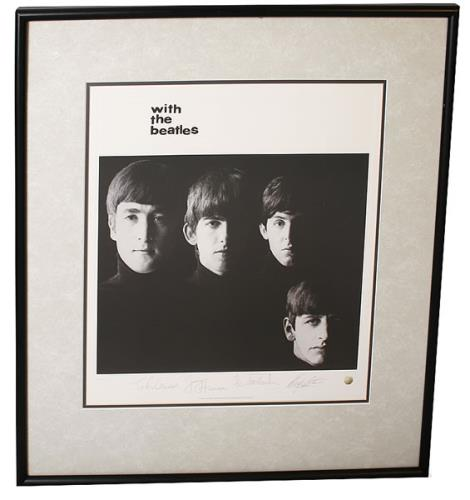 The Beatles With The Beatles UK memorabilia (445953) FRAMED LITHOGRAPH