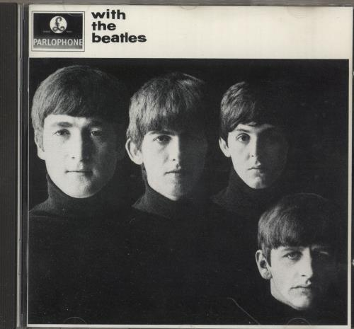 The Beatles With The Beatles CD album (CDLP) German BTLCDWI747749