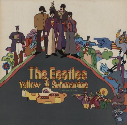 The Beatles Yellow Submarine - 3rd vinyl LP album (LP record) UK BTLLPYE461732