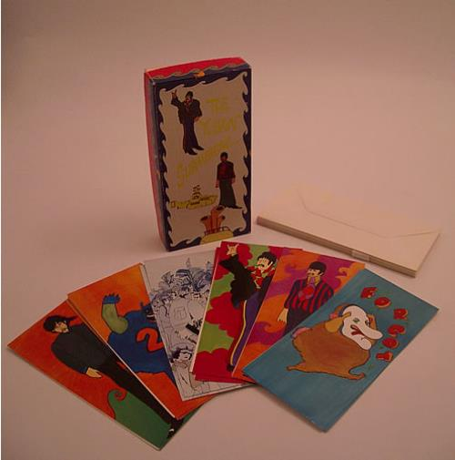 The beatles yellow submarine boxed greetings cards us memorabilia the beatles yellow submarine boxed greetings cards memorabilia us btlmmye356949 m4hsunfo