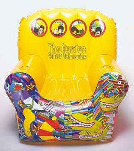 The Beatles Yellow Submarine Inflatable Chair - sealed memorabilia UK BTLMMYE431388  sc 1 st  Eil.com & The Beatles Yellow Submarine Inflatable Chair - sealed UK ...