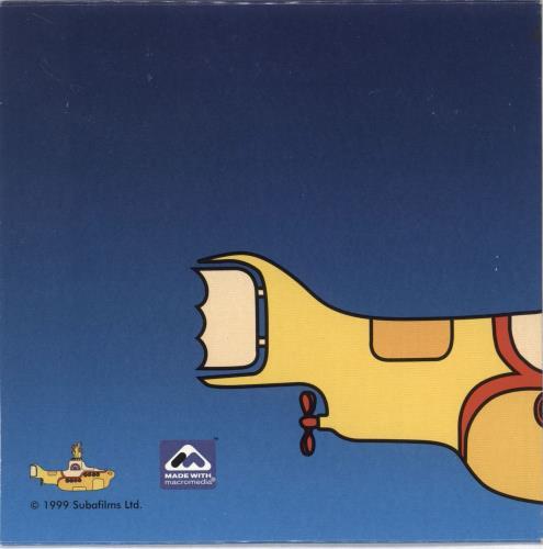 The Beatles Yellow Submarine Press Kit CD-ROM UK BTLROYE143894