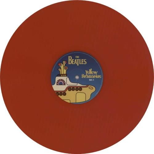 The Beatles Yellow Submarine Songtrack Red Vinyl Uk