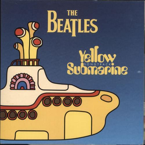 The Beatles Yellow Submarine Songtrack - Yellow Vinyl - EX vinyl LP album (LP record) UK BTLLPYE425112