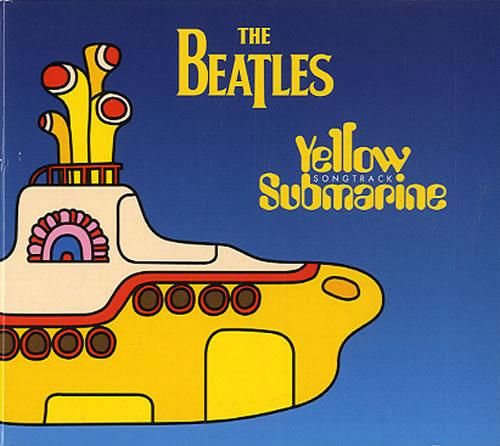 """The Beatles Yellow Submarine Songtrack Sampler CD single (CD5 / 5"""") UK BTLC5YE143519"""