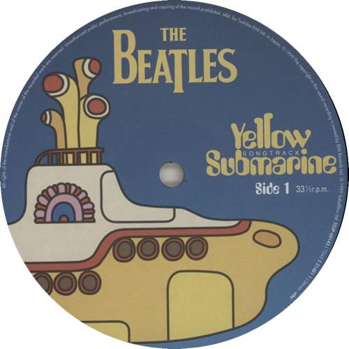 The Beatles Yellow Submarine Songtrack vinyl LP album (LP record) Japanese BTLLPYE316321