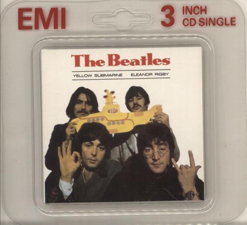 The Beatles Yellow Submarine Uk 3 Quot Cd Single Cd3 126466