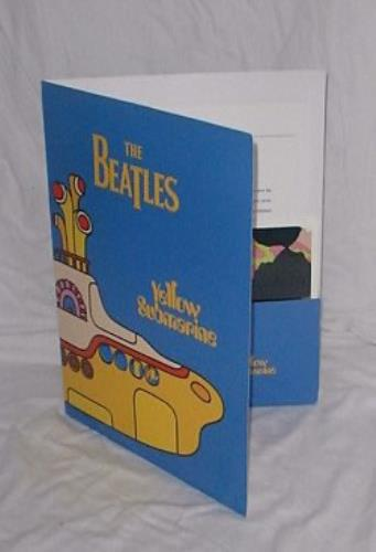 The Beatles Yellow Submarine media press pack US BTLPPYE146528