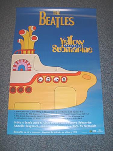 The Beatles Yellow Submarine poster Mexican BTLPOYE164328