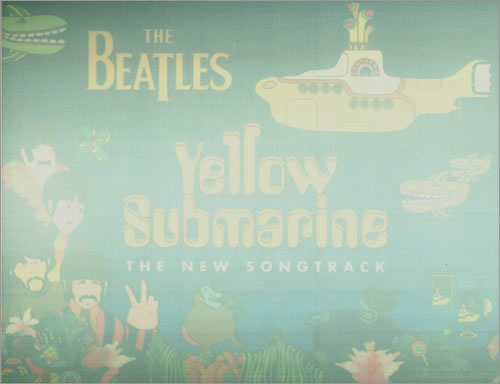 The Beatles Yellow Submarine display US BTLDIYE214027