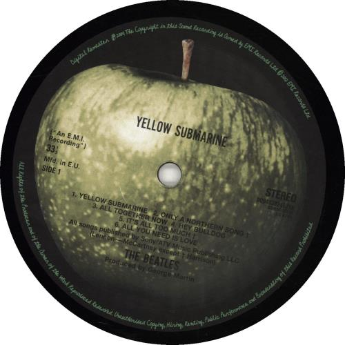 The Beatles Yellow Submarine vinyl LP album (LP record) Japanese BTLLPYE690734