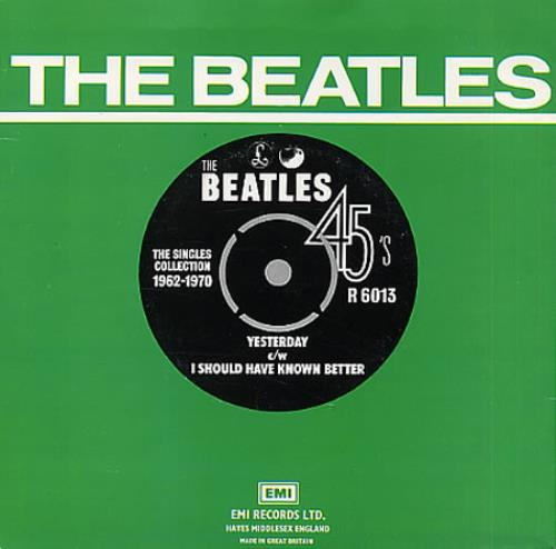 "The Beatles Yesterday - 1976 7"" vinyl single (7 inch record) UK BTL07YE331712"