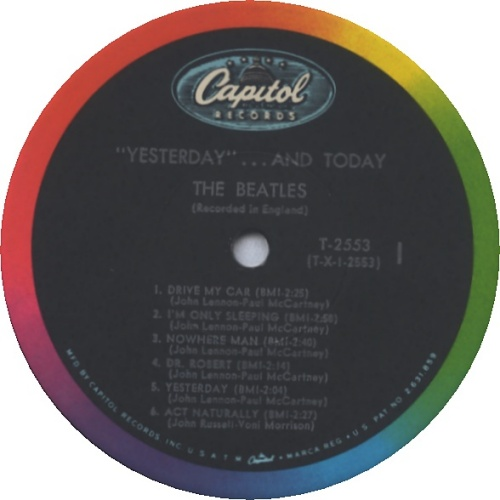The Beatles Yesterday And Today - 2nd State - EX vinyl LP album (LP record) US BTLLPYE150991