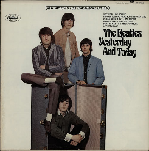 The Beatles Yesterday And Today - 2nd State vinyl LP album (LP record) US BTLLPYE579238