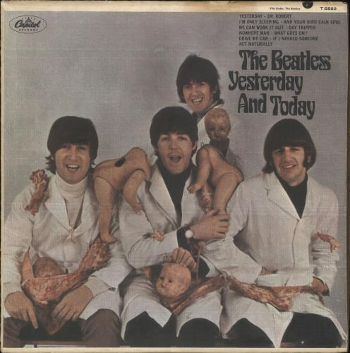 The Beatles Yesterday And Today - 3rd State - Mono - VG vinyl LP album (LP record) US BTLLPYE682168