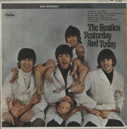 The Beatles Yesterday And Today - 3rd State vinyl LP album (LP record) US BTLLPYE333286