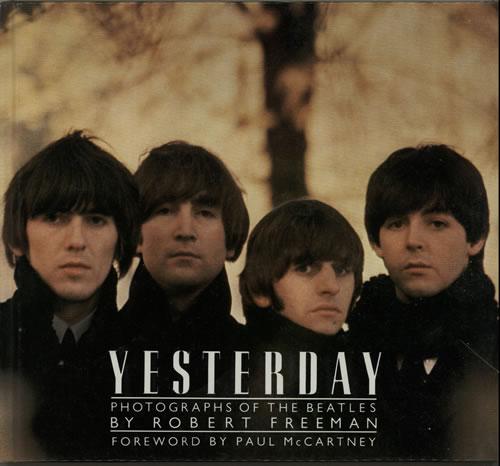 The Beatles Yesterday: Photographs Of The Beatles book UK BTLBKYE135261