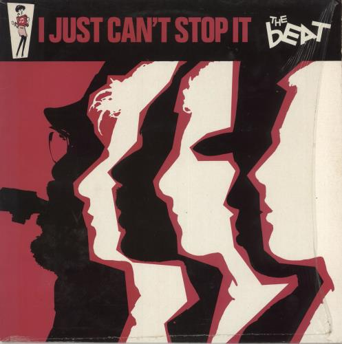 The Beat I Just Can't Stop It + Shrinkwrap vinyl LP album (LP record) UK TBTLPIJ727115