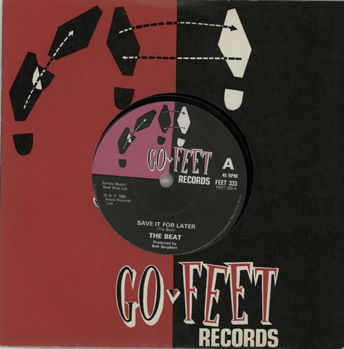 """The Beat Save It For Later - Solid 7"""" vinyl single (7 inch record) UK TBT07SA574686"""
