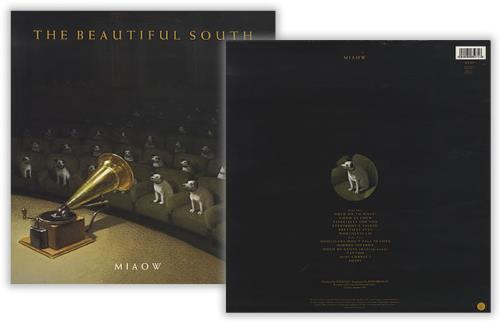 The Beautiful South Miaow Withdrawn Sleeve Uk Vinyl Lp