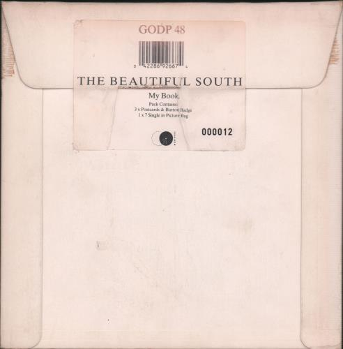 """The Beautiful South My Book - Limited Numbered Pack 7"""" vinyl single (7 inch record) UK BSO07MY50199"""