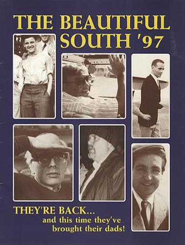 The Beautiful South The Beautiful South '97 tour programme UK BSOTRTH325564