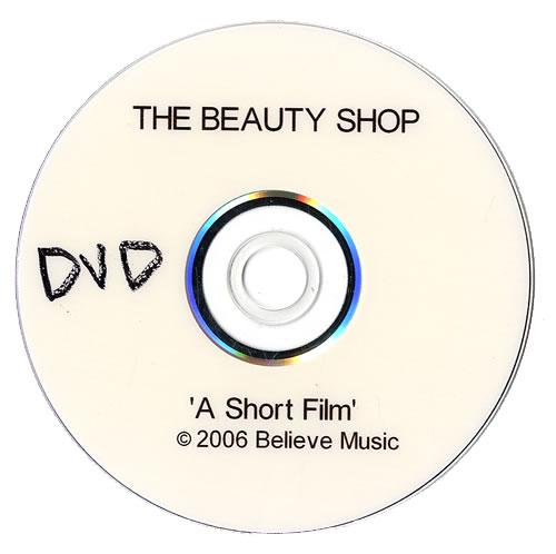 The Beauty Shop A Short Film promo DVD-R UK TUADRAS484181