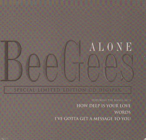 "The Bee Gees Alone - Digipak CD single (CD5 / 5"") UK BGEC5AL82664"