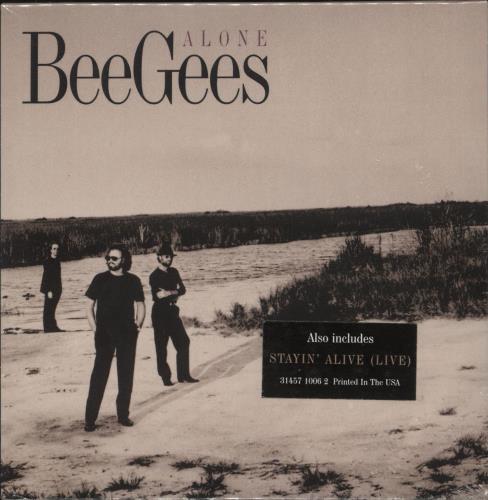 "The Bee Gees Alone CD single (CD5 / 5"") US BGEC5AL83912"