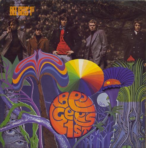 The Bee Gees Bee Gees' 1st - VG vinyl LP album (LP record) UK BGELPBE712988