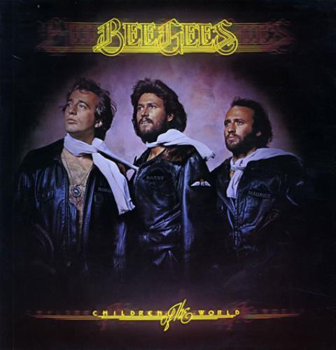 The Bee Gees Children Of The World vinyl LP album (LP record) UK BGELPCH366163