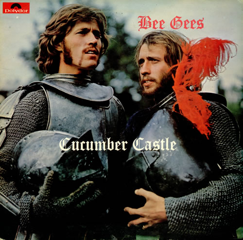 The Bee Gees Cucumber Castle vinyl LP album (LP record) UK BGELPCU210490