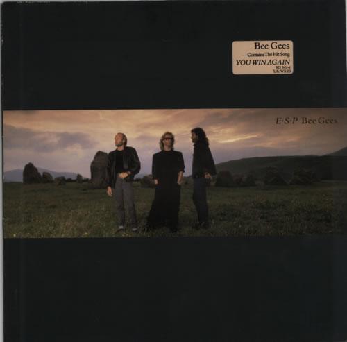 The Bee Gees E.S.P vinyl LP album (LP record) UK BGELPES284406
