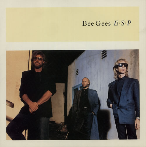 """The Bee Gees E.S.P. 7"""" vinyl single (7 inch record) UK BGE07ES582827"""