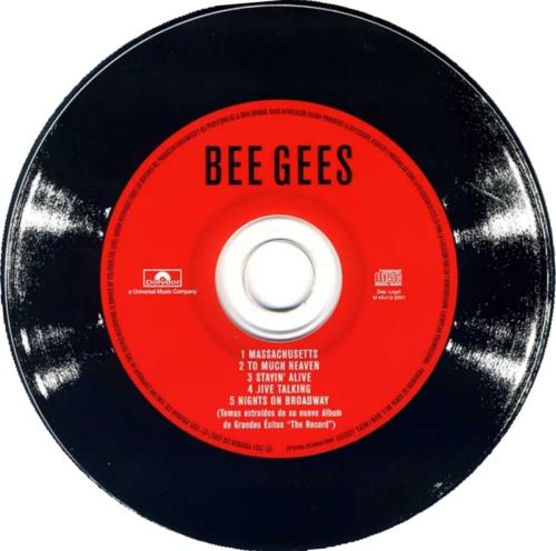 The Bee Gees Four New Songs From The Record 2 CD album set (Double CD) Spanish BGE2CFO202342