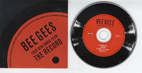 """The Bee Gees Four New Songs From The Record CD single (CD5 / 5"""") US BGEC5FO203877"""
