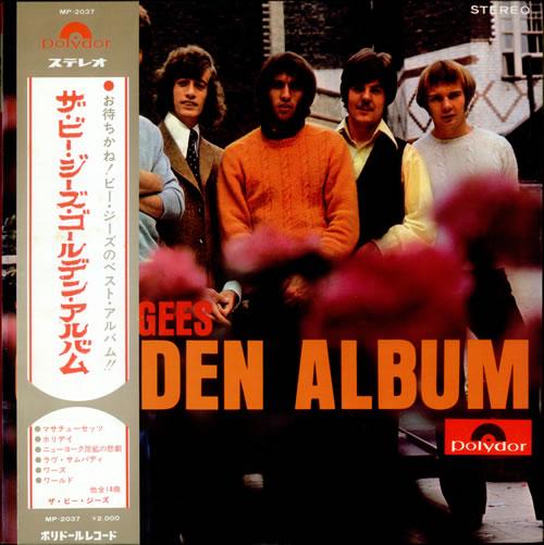 The Bee Gees Golden Album vinyl LP album (LP record) Japanese BGELPGO522148
