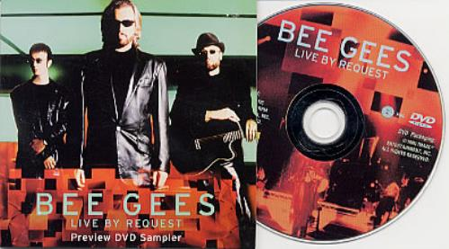 The Bee Gees Live By Request DVD US BGEDDLI208219