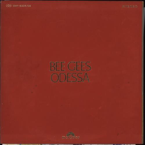 The Bee Gees Odessa 2-LP vinyl record set (Double Album) Japanese BGE2LOD706873