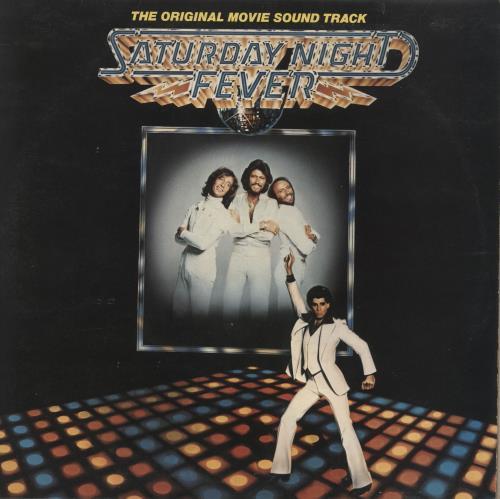 The Bee Gees Saturday Night Fever + Insert 2-LP vinyl record set (Double Album) UK BGE2LSA654498