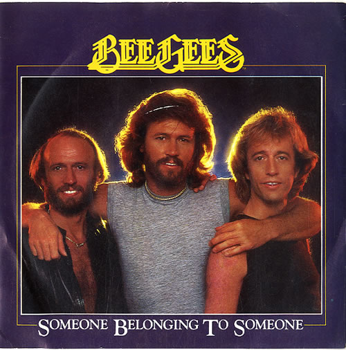 """The Bee Gees Someone Belonging To Someone 7"""" vinyl single (7 inch record) UK BGE07SO591808"""